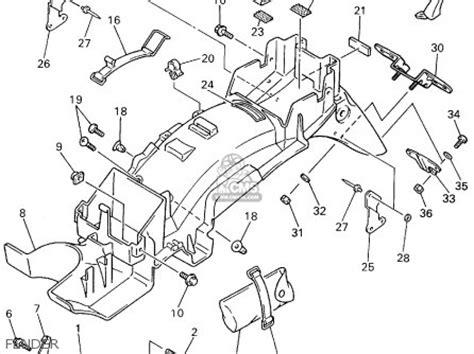 yamaha xj600 wiring diagram wiring diagram
