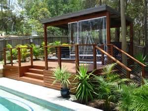 Timber Patio Designs Inground Pool Decking Options Ideas In Australia