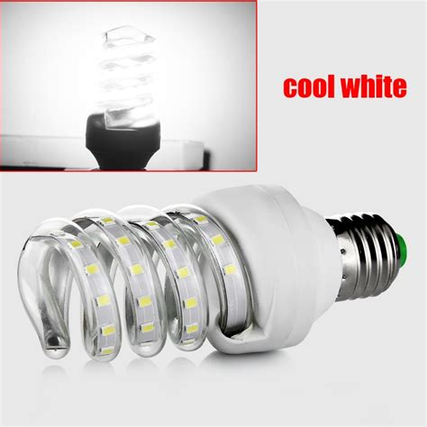 e27 9w 2835smd 48 led energy saving spiral l bulb light