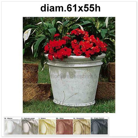 vasi moderni per esterno vasi per esterno tondo 597tc871 fioriere da esterno