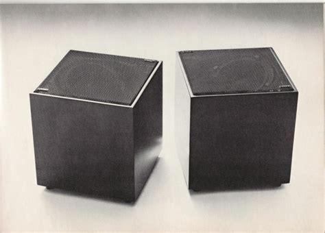 minimalist computer speakers a minimalist classic reborn the od 11 cloud speaker
