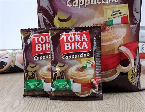 Torabika Cappuccino Bag 20x25 G by Imported From Indonesia 500g Bag Torabika Cappuccino