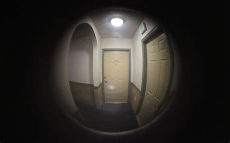 at s door end of stories from the bedside books door peephole midsummer photography