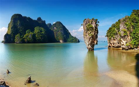 thailand phutket nature rock  water wallpaperscom