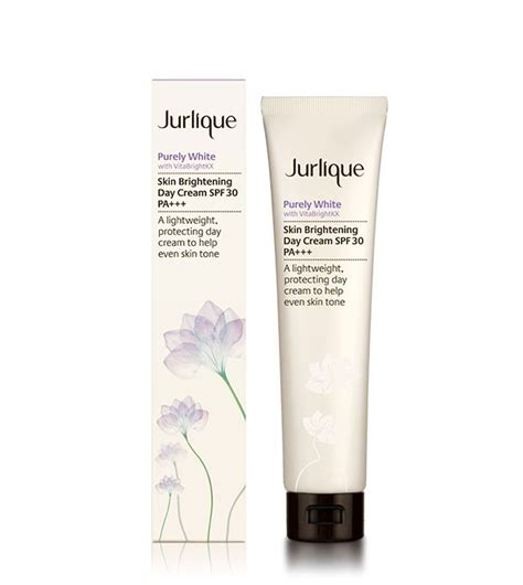 Whitening Day With Spf 30 And purely white skin brightening day spf jurlique