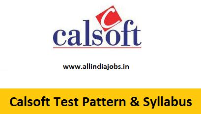 pattern testing jobs calsoft online test pattern and syllabus freshers jobs