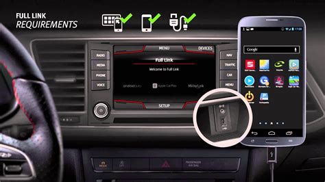 full link tutorial connect  smartphone   car