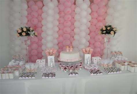 girl baby shower table decorations baby shower ideas for girls 4 todayideas