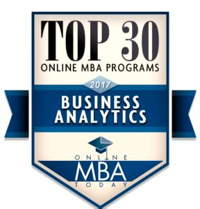 Analytics Mba by Top 30 Mba Programs In Business Analytics 2017