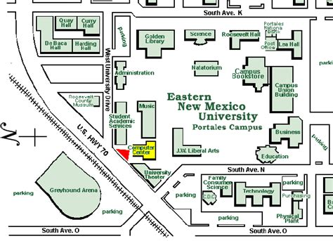 Eastern New Mexico Mba Admissions by Enmu Cus Map My