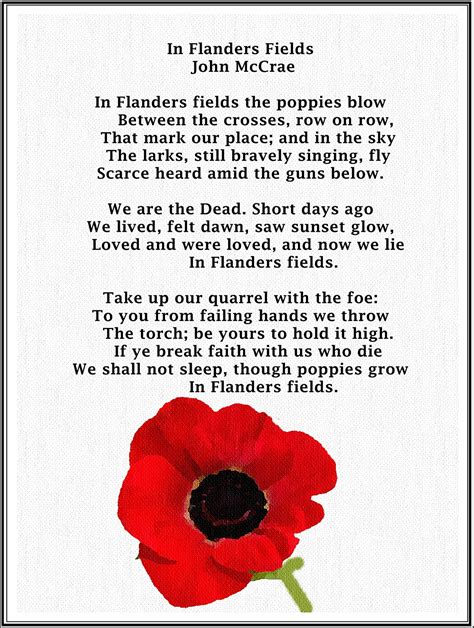 printable version of flanders fields in flanders fields doing the 116 blog