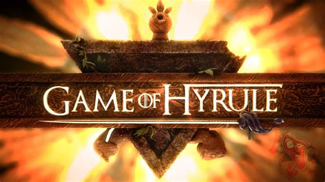 intro the game game of hyrule legend of zelda game of thrones
