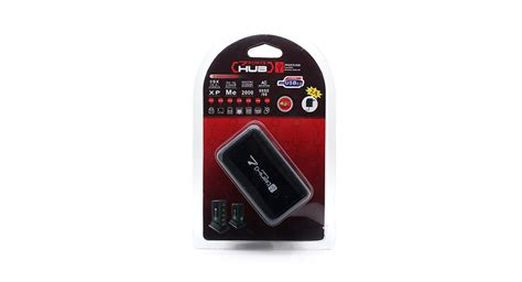 Usb Hub 7 Port Magic High Speed 20 8 78 high speed 7 port usb 2 0 hub with vertical stand black with power adapter at fasttech