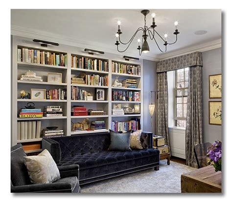 behind the couch bookshelf a room i love a row house library office combo