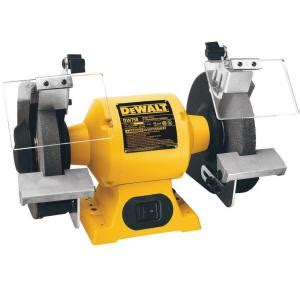 dewalt 8 in 205 mm bench grinder dw758 the home depot
