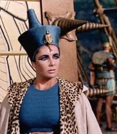 film blue cleopatra cleopatra 1963 elizabeth taylor in green costume