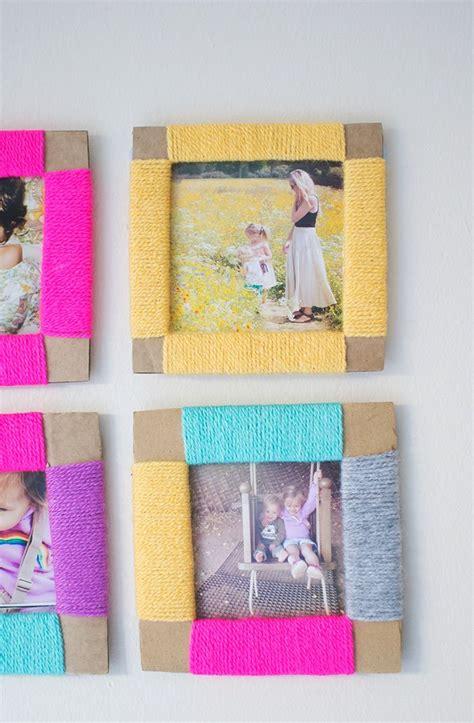 Handmade Cardboard Photo Frames - 25 unique photo frames ideas on photo