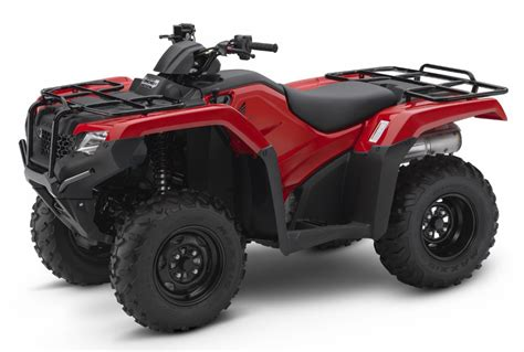Honda Atv Prices 2017 honda atv model lineup prices 2017 vs 2016