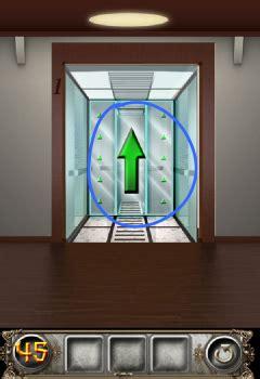 100 floors level 45 solution the floor escape level 45 walkthrough