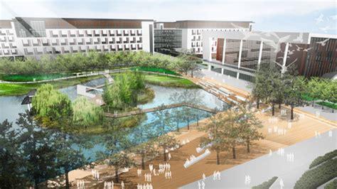 Landscape Architecture High School Courses Kunshan West High School Master Plan Kunshan China