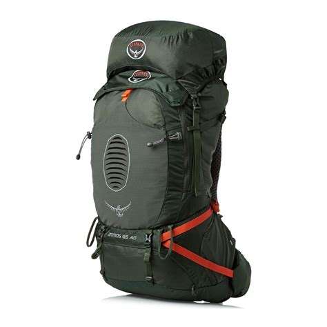 Osprey Carrier Atmos 65 Ag Green 2 osprey atmos ag 65 backpack graphite grey free uk