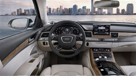 audi dashboard dashboard of 2011 audi a8 wallpaper