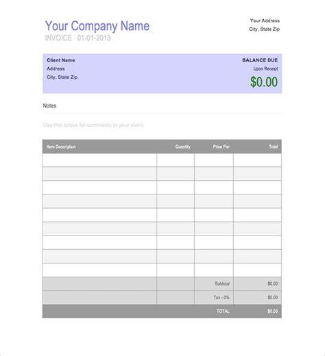 invoice book template 8 invoice book templates free word pdf documents