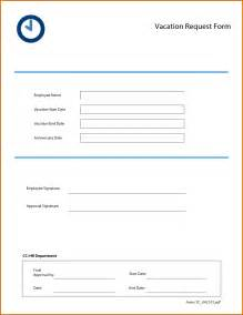 Vacation Request by Vacation Request Form 2016 Calendar Template 2016