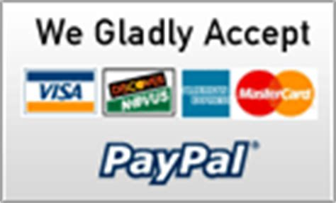 Visa E Gift Card Paypal - we accept visa mastercard discover sign