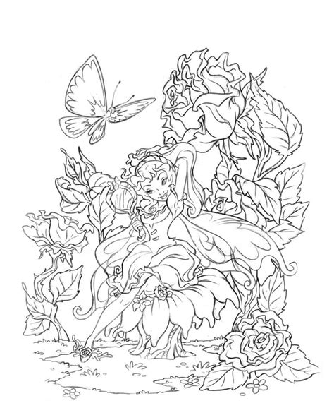 adult coloring page coloring home printable fantasy coloring pages for adults coloring home