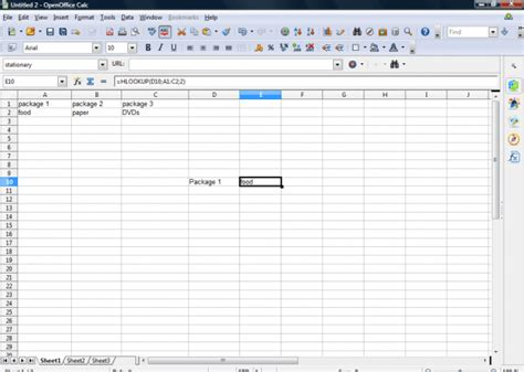 Open Office Spreadsheet Help by How To Use Hlookup Functions In Openoffice Spreadsheets