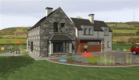 modern irish house plans modern farmhouse plans ireland