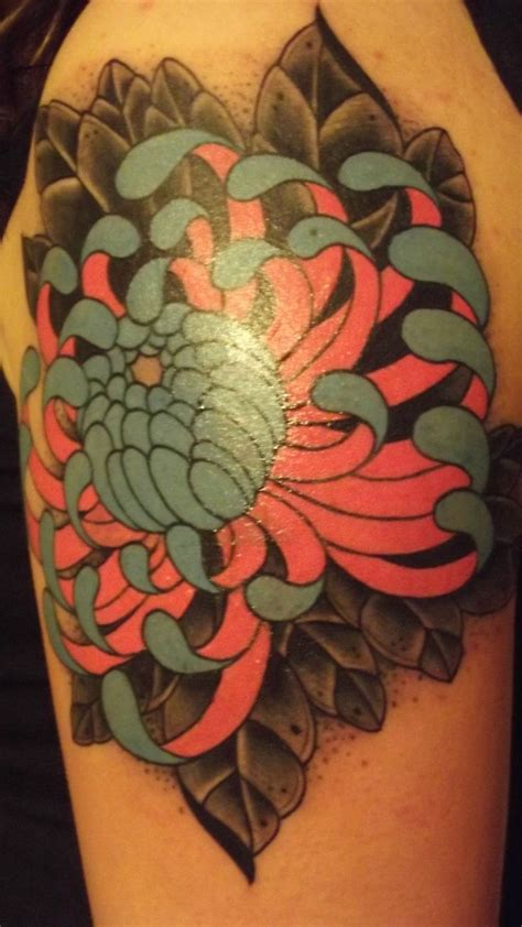 chrysanthemum tattoos 17 best images about flowers on