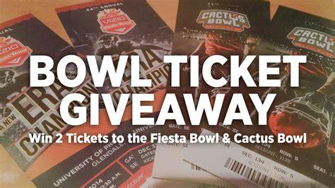 Free Ticket Giveaway - free bowl ticket giveaway sports360az