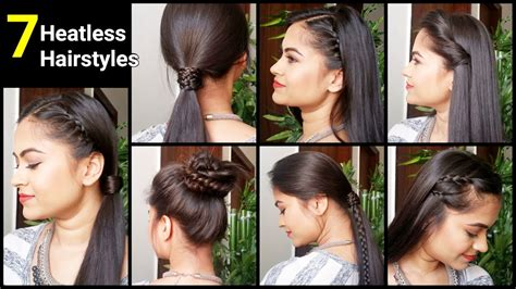 heatless hairstyles shoulder length hair 7 heatless hairstyles quick easy everyday hairstyles for
