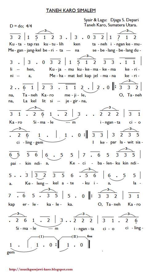 not angka lagu rohani mengejar hadirmu musik gerejawi karo partitur lagu karo taneh karo simalem