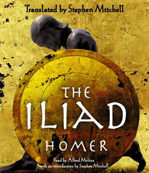 iliad best translation the iliad audiobook on cd by homer stephen mitchell
