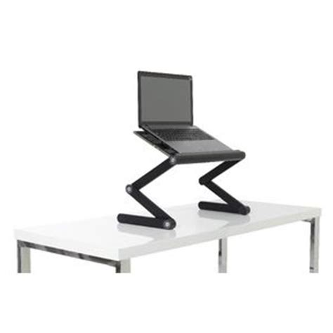 desk to stand at portable folding sit stand desk
