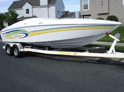 baja speed boat baja h2x speed boat w heritage trailer speed boat