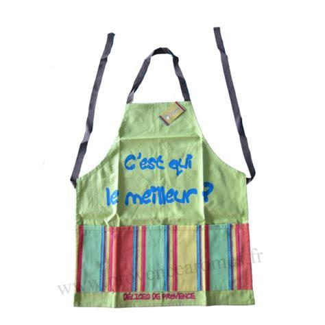 tablier de cuisine pour enfant tablier de cuisine pour enfant en coton vert c est qui le