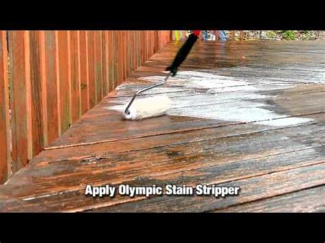 Removing Stain From Wood Deck how to strip old wood or deck stain or paint youtube