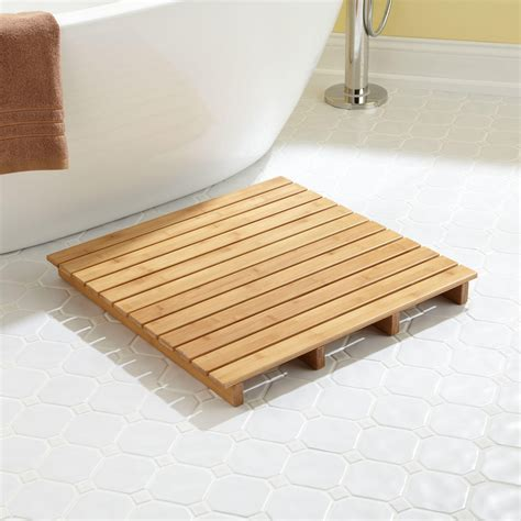 Bathroom Shower Mats 7 Bath Mat Ideas To Make Your Bathroom Feel More Like A Spa