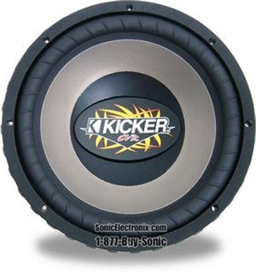 kicker cvr  car subwoofers sonic electronix