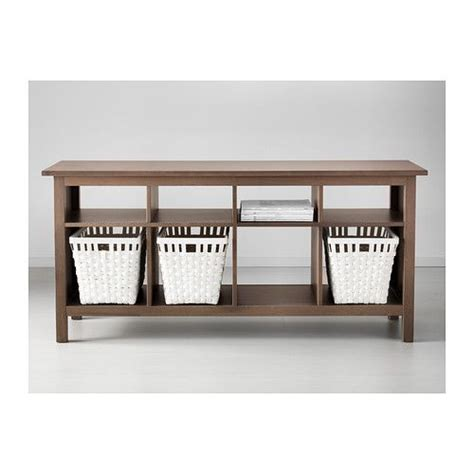 hemnes sofa table hemnes sofa table black brown
