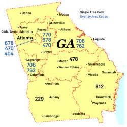 atlanta area code map point and shoot atlanta area codes