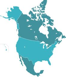united states map with canada and mexico american monetary union