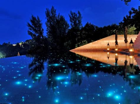 fiber optic pool lighting for the home