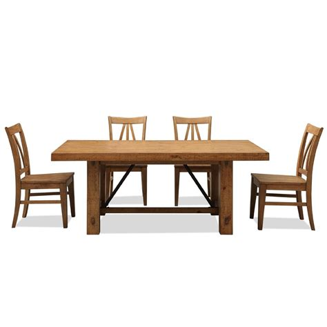 set dining room table rustic dining room table set marceladick com
