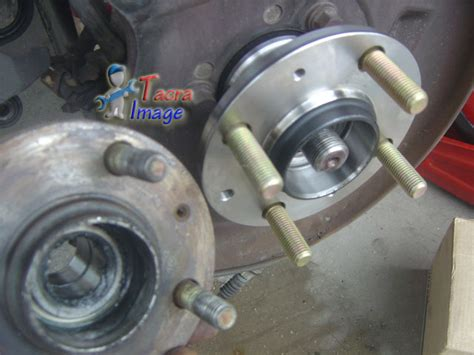 hub depan lespo 36h bearing tacra s diy garage wira rear wheel bearing