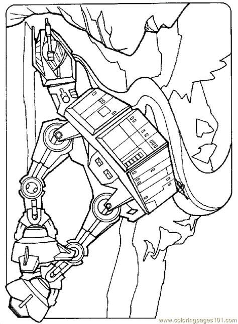 star wars at at coloring page at at walker colouring pages